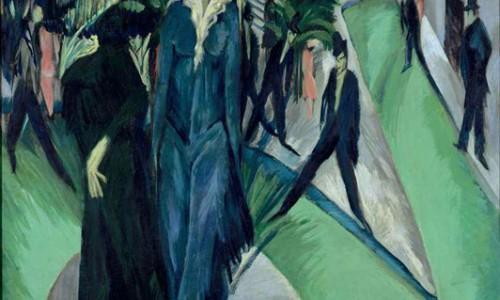 Expressionism – Trường phái biểu hiện : biến dạng hình, bút pháp thô, cảnh ngất ngây, lòng bi thiết