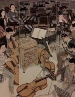 Về thân phận con sen, con vợ lẽ của tranh lụa trong làng hội họa Việt Nam