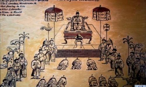 Thiên hoàng- Mạc phủ và vua Lê- chúa Trịnh
