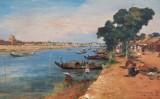 Phong cảnh Việt Nam thời Đông Dương qua tranh vẽ của họa sĩ nước ngoài