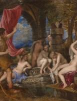 """Bức tranh đắt giá """"Diana và Actaeon"""" của họa sĩ Titian"""