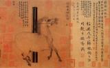 Tranh ngựa của họa sĩ cung đình Hàn Cán (706-783), thời Đường