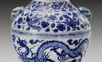 Điểm mặt một số đồ sứ xanh trắng Nguyên – Minh trên thị trường thế giới năm 2015