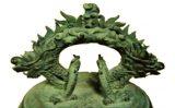 Chuông đồng thời Lê Nguyễn tại Bảo tàng Lịch sử Quốc gia