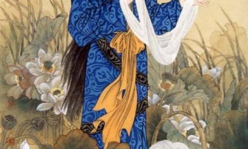 Tác giả bộ tranh Cổ đại Tứ đại mỹ nhân Trung Hoa