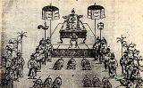 Việt Nam qua ghi chép của người phương Tây : Lễ đăng quang của vua