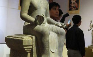 Chiêm ngưỡng các kiệt tác quý hiếm của mỹ thuật cổ Phật giáo, Hindu giáo