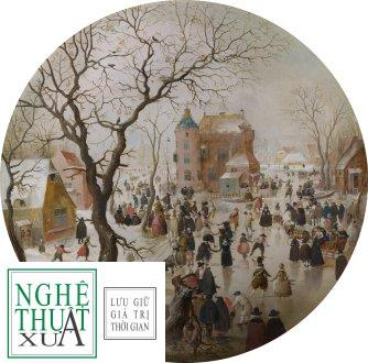 hendrick_averkamp_a_winter_scene_with_skaters_near_a_castle
