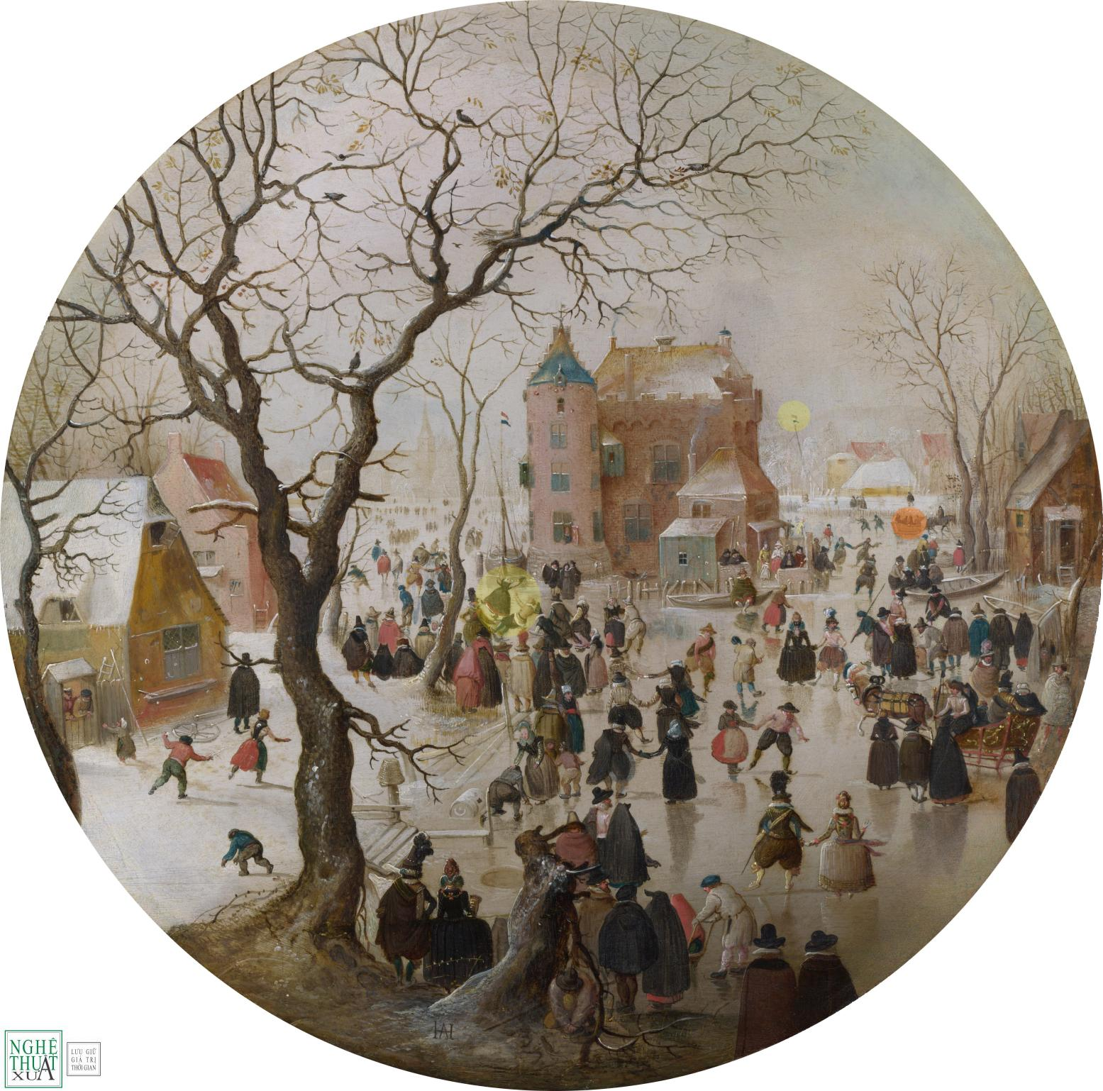 hendrick_averkamp_a_winter_scene_with_skaters_near_a_castle_1