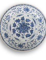 Đĩa Chu Đậu thế kỷ XVI, giá ước lượng 1 000 € / 1 500 €