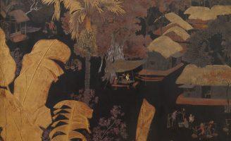 Tranh sơn mài của hoạ sĩ Lê Quốc Lôc, vẽ năm 1944, giá ước lượng 6k-8K EUR