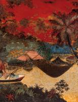 Tranh sơn mài, hs Tran Van Ha, giá ước lượng 3000-4000EUR