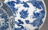 Đĩa xanh trắng Nội Phủ Thị Trung, giá ước lượng 300 – 500 €