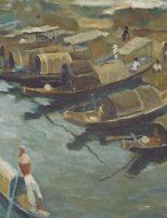 """Vài nhận xét về bức tranh """"Thuyền Trên Sông Hương"""" đấu giá trên sàn Christie's ngày 10 tháng 5 năm 2016"""