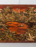 Tranh sơn mài Việt Nam, 1960, giá ước lượng 300 – 500 EUR