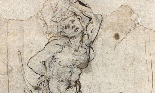 """Tìm thấy một bản vẽ của Leonardo da Vinci: """"Bảo tàng Louvre phải có!"""""""