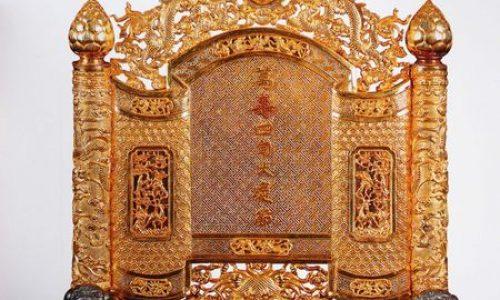 Theo dấu bảo vật lưu lạc xứ người bằng vàng của triều Nguyễn