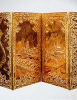 Tấm trấn phong bằng vàng – thuộc bộ sưu tập của Cựu hoàng Bảo Đại.