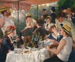 """Đoán xem  Renoir đã yêu ai trong """"Bữa trưa của buổi tiệc trên thuyền"""""""