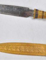 Lưỡi dao găm nạm vàng của vua Tut chế từ thiên thạch