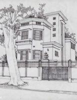 Biệt thự kiểu Art Deco ở Hà Nội