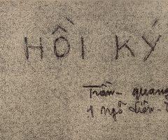 """Cái tên """"Sơn mài"""" là do ai đặt? một trích đoạn hồi ký Trần Quang Trân."""