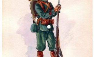 Chùm hình ảnh và tranh vẽ tư liệu về Lính tirailleurs indochinois và French