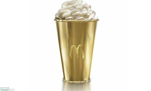 Đấu giá quà lưu niệm đắt nhất của McDonald – Cốc vàng kim cương trị giá 100 ngàn đô la Mỹ