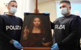 """Cảnh sát Ý tình cờ thu hồi được một phiên bản """"Đấng cứu thế"""" 500 năm tuổi ở Naples"""