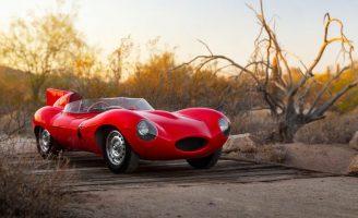 Jaguar D-Type – kẻ thống trị giải đua xe Le Mans – có giá dự kiến khoảng 6 triệuUSD.