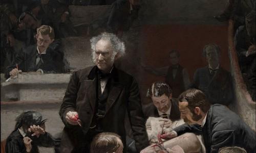 """Bức tranh gây sốc """"The Gross Clinic"""" của họa sĩ Thomas Eakins"""