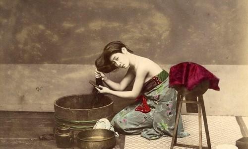 Chùm ảnh màu quý hiếm về Nhật Bản thế kỷ 19