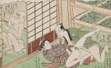 Hành trình học đạo làm tình của chàng hạt đậu trong bộ tranh Shunga của Harunobu