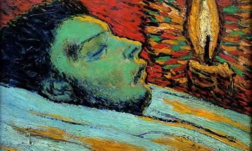 Ngắm tranh La mort de Casagemas (cái chết của Casagemas) – sợ hơn là xem phim ma