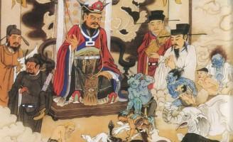 Bảo tàng Mỹ Thuật Việt Nam (Phần IX) : Thập điện Diêm Vương