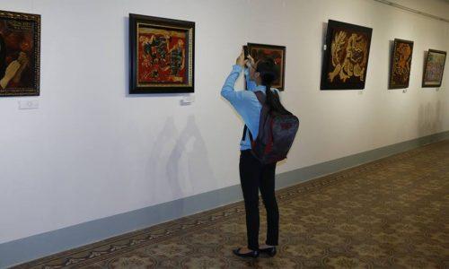 """Hình ảnh mới nhất tại triển lãm """"Những bức tranh trở về từ Châu Âu"""""""