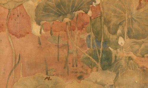 Tranh màu nước trên giấy, họa sĩ Nguyễn Tường Lân, giá dự đoán 6000-8000 (EUR)