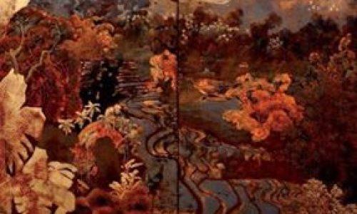 Tác phẩm sơn mài (attributed to Phạm Hậu), giá ước lượng 20 000 – 30 000 €.