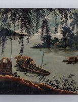 Tranh sơn mài Việt Nam, 1960, giá ước lượng 200 – 300 EUR