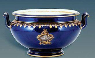 Vua Thành Thái và bộ đồ ăn Đại Nam