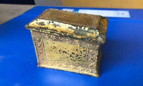 Cổ vật bằng vàng tại Nghệ An vừa được công nhận là bảo vật Quốc gia