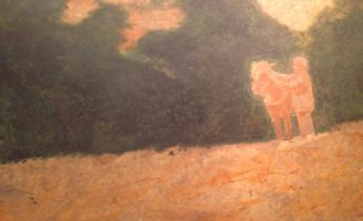 Ba bức sơn mài bảo vật quốc gia ở Bảo tàng Mỹ thuật