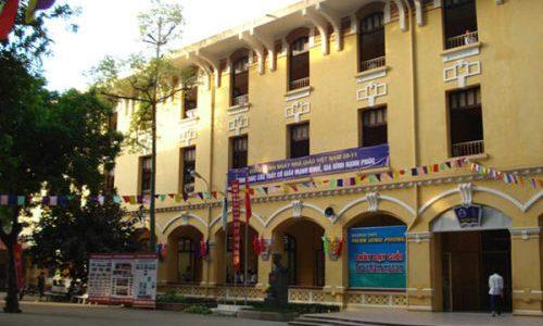 Kiến trúc trường học phong cách địa phương Pháp ở Hà Nội