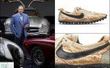 Đôi giầy Nike 'Moon Shoe' được bán với giá kỷ lục 437.500 đô la Mỹ cho nhà sưu tập Miles Nadal