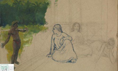 Bức tranh chưa hoàn thiện trị giá 15 triệu bảng của Paul Gaugin tại Tate Britain có thể là giả