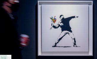 Phiên đấu giá tác phẩm vật lý của Banksy lần đầu tiên chấp nhận thanh toán bằng Bitcoin
