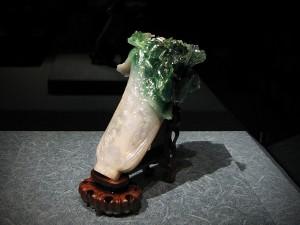 Jade cabbage closeup